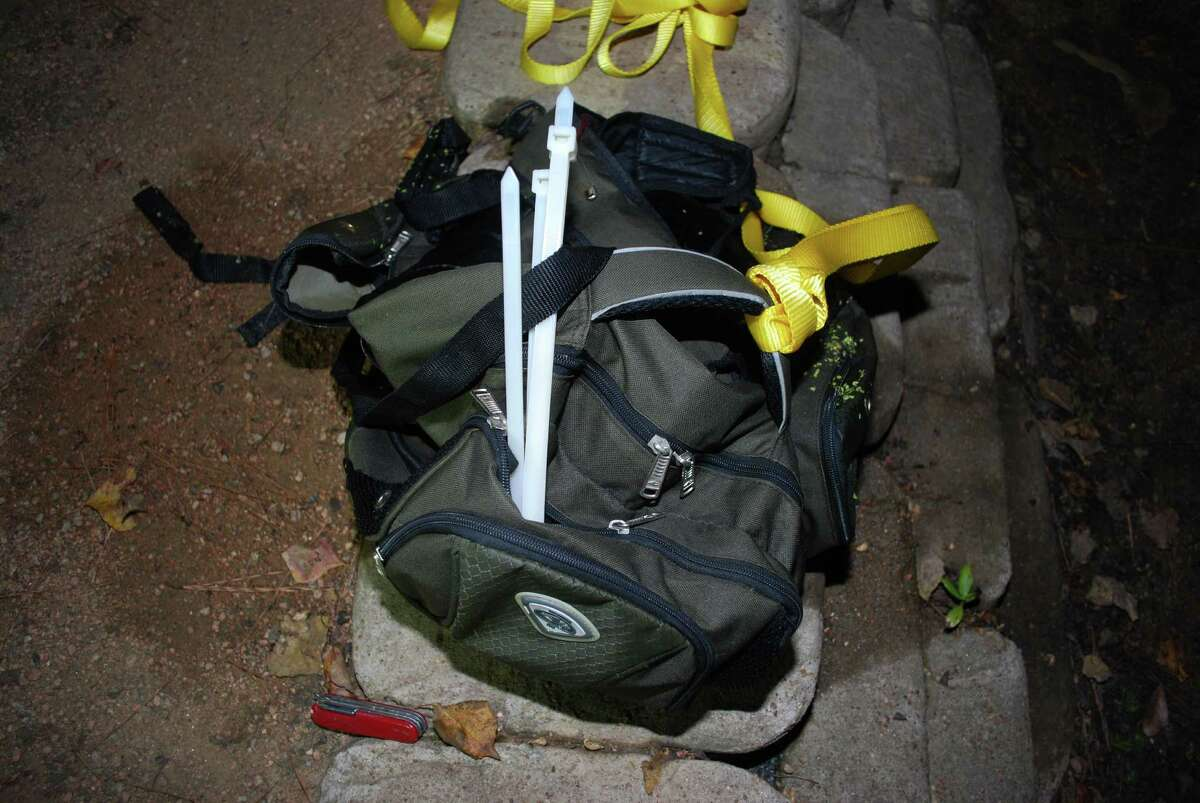 The Montgomery County Sheriff's Office is hoping these items can help identify a man found dead in The Woodlands Oct. 7.