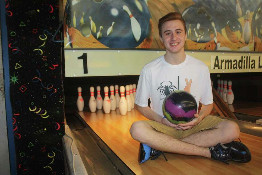 Bowler Jordan Smith is the new owner for a youth series record, throwing an 846 earlier this month, breaking the old record of 816 set 17 years ago. Photo: Robert Avery