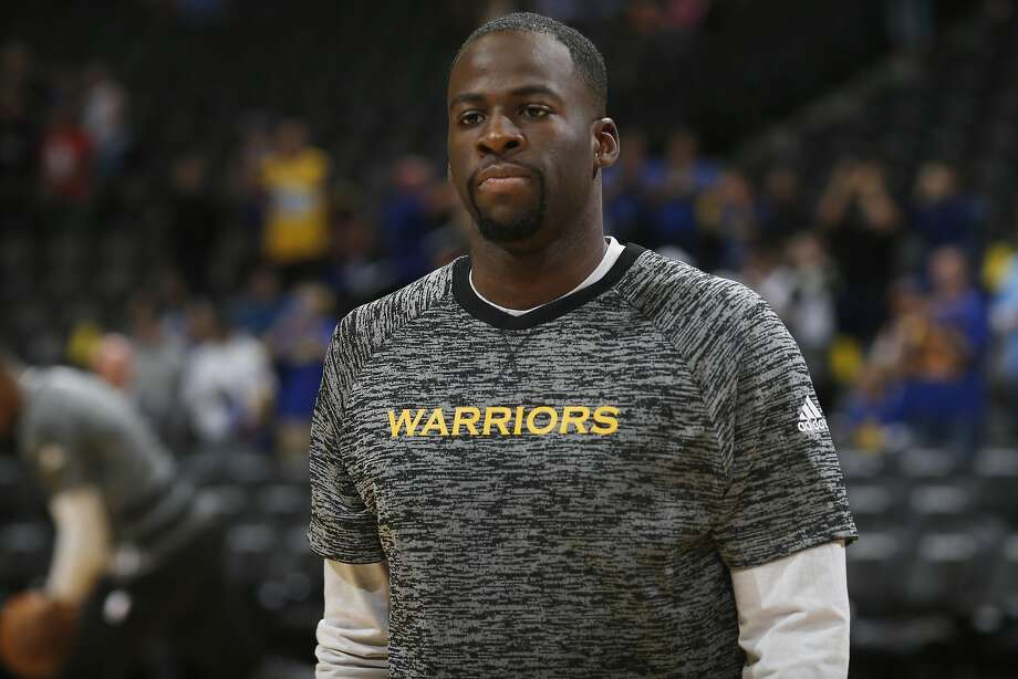 Golden State Warriors forward Draymond Green (23) in the first half of an NBA preseason basketball game Friday, Oct. 14, 2016, in Denver. (AP Photo/David Zalubowski) Photo: David Zalubowski, Associated Press