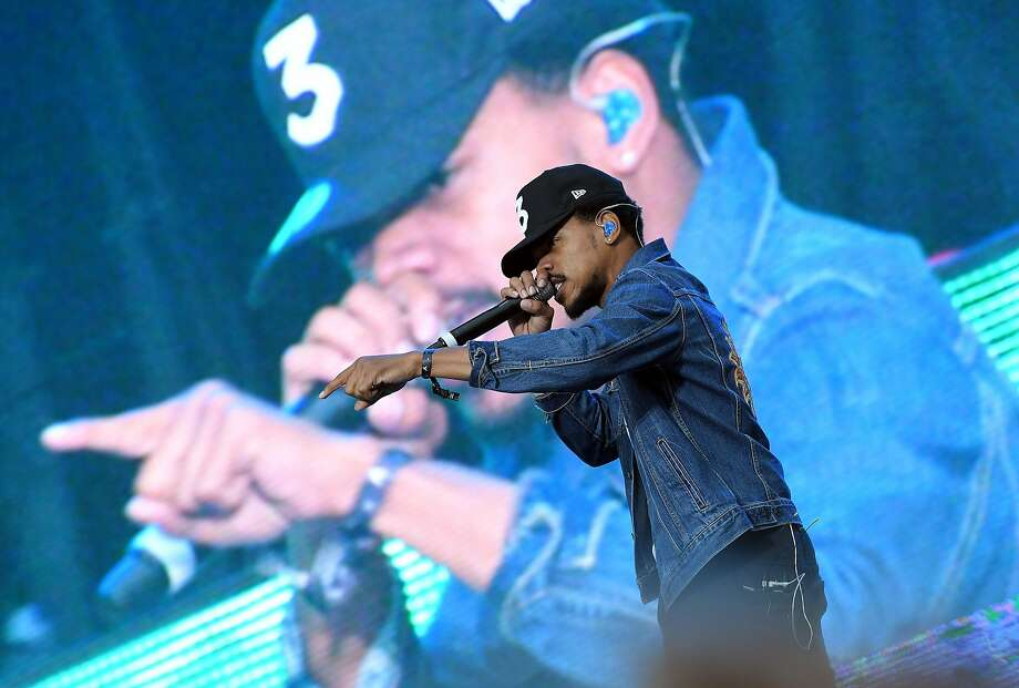 Chance the Rapper performs on stage during The Meadows Music & Arts Festival on October 2, 2016 in Queens, New York.  / AFP PHOTO / ANGELA WEISSANGELA WEISS/AFP/Getty Images Photo: ANGELA WEISS, AFP/Getty Images