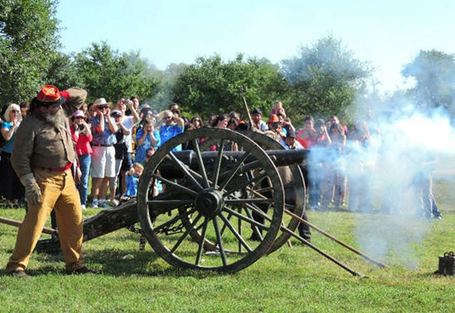 The 33rd annual Texian Market Days, presented by the Fort Bend County Museum Association, will be 9 a.m.-5 p.m. Oct. 22 at the George Ranch Historical Park, 10215 FM 762 Road, Richmond. The living history event includes Texas Revolution and Civil War battle re-enactments, open-air cooking demonstration, historic house tours, music and food.  Visit texianmarketdays.com for details. Photo: Fort Bend County Museum Association