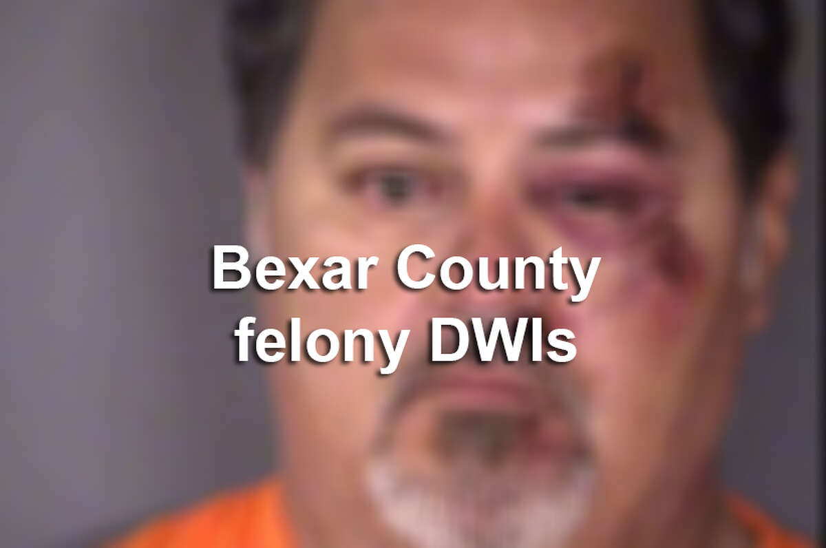 Click ahead to see those accused of felony DWIs in September 2016 in Bexar County.