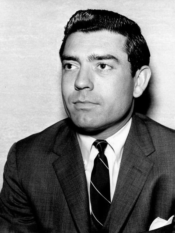01/08/1964 - Dan Rather, CBS News Southern Bureau chief Photo: Ed Valdez, HP Staff / Houston Chronicle