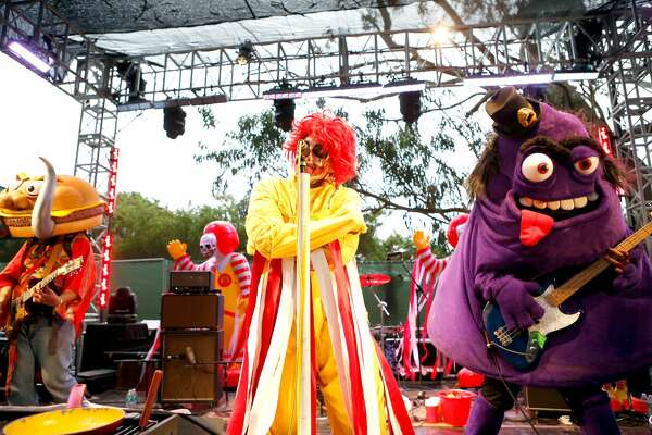 SAN FRANCISCO, CA - AUGUST 09:  Mac Sabbath performs at the GastroMagic Stage during day 3 of the 2015 Outside Lands Music And Arts Festival at Golden Gate Park on August 9, 2015 in San Francisco, California.  (Photo by FilmMagic/FilmMagic)