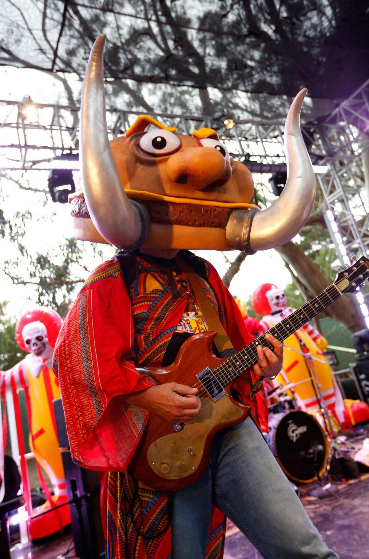 Mac Sabbath performs at the GastroMagic Stage during day 3 of the 2015 Outside Lands Music And Arts Festival at Golden Gate Park on August 9, 2015 in San Francisco, California. (Photo by FilmMagic/FilmMagic)