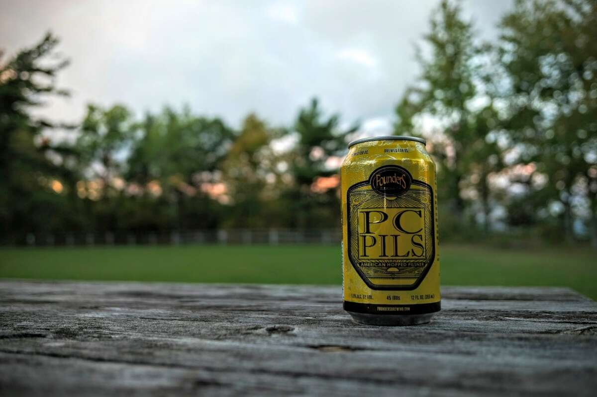 PC Pils from Founders Brewing Co. For those looking for a beer that travels a little easier, Frank suggests PC Pils, the fall release from Founders out of Grand Rapids, MI. He says it's
