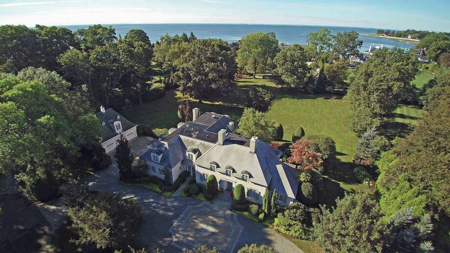 Although the two-acre estate at 1011 Gunston Road does not have direct waterfront it is easy walking distance from Southport Harbor and beach. Photo: Contributed / Contributed Photo / Fairfield Citizen