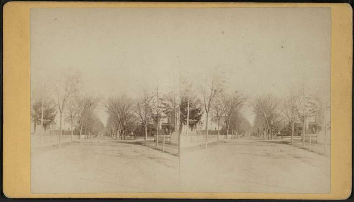 Another view of Park Avenue, in Bridgeport, Conn., circa 1875.