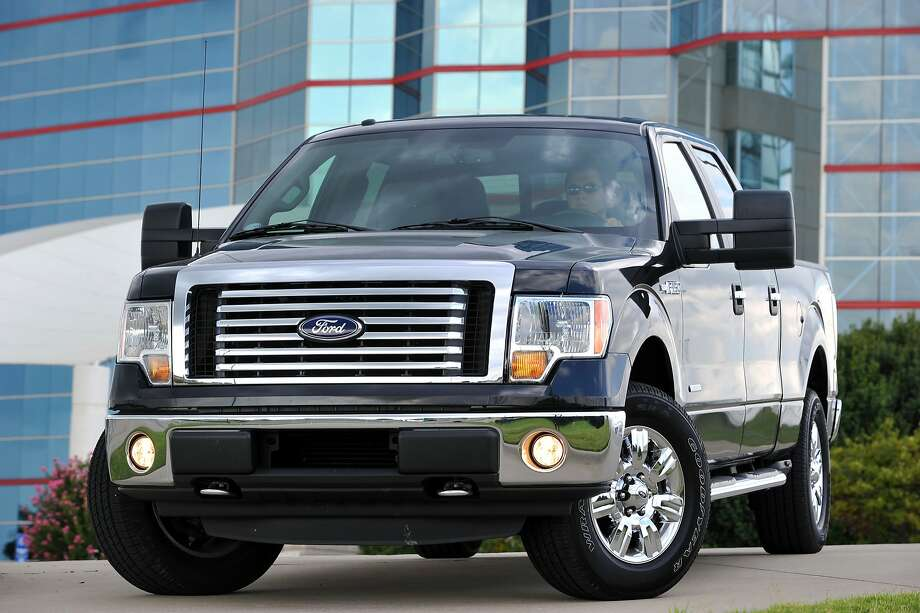 This photo taken Sept. 22, 2010, provided by the Ford Motor Co., shows the 2011 Ford F-150 Pick-up truck. Trucks outsold cars in October by the widest margin since 2007, a good sign for the economy since sales of pickups and other large vehicles often indicate that businesses and individuals feel flush enough to buy a big-ticket item. (AP Photo/Ford Motor Co., Sam VarnHagen) NO SALES Photo: VnaHagen, Sam, AP