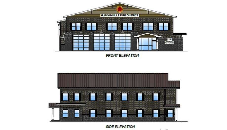 Exterior of McKownville Fire Department's proposed addition and renovation to fire house. Voters approved the plan on Oct. 18.