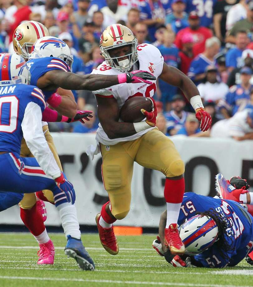 Kelly: Niners RB Hyde 'a stretch' to play Sunday