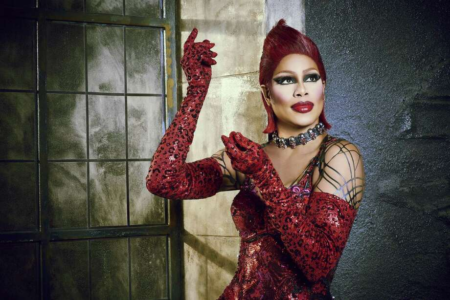 Laverne Cox electrifies the small screen as Frank-N-Furter in the 'Sweet Transvestite' number in TV's version of 'The Rocky Horror Picture Show' on Fox. Photo: Fox /Steve Wilkie