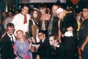 San Antonio's rich history with 'The Rocky Horror Picture Show' included shadow casts — fans of the movie who would dress as the characters and mimic their movements during movie showings. This group is from the late '80s.