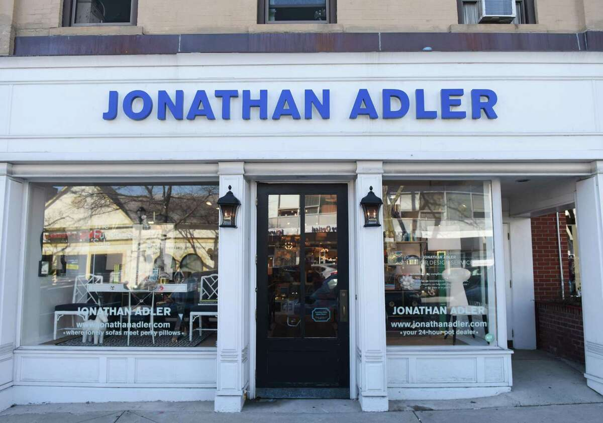 The building that houses Jonathan Adler, at 88 Greenwich Ave. in Greenwich, was sold in March after having been owned by an estate that also owned five other local buildings.