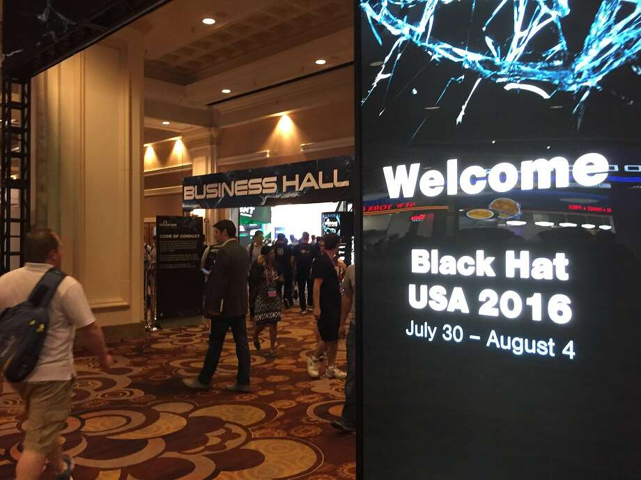 The Black Hat conference in Las Vegas is the world's biggest cybersecurity gathering, and attracts security experts, hackers and software vendors. The industry doesn't have enough workers to meet its needs, and one key reason is that so few women are working in tech. Photo: Tim Johnson, TNS