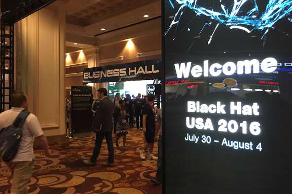 The Black Hat conference in Las Vegas is the world's biggest cyber security gathering, and attracts security experts, hackers and software vendors. (Tim Johnson/McClatchy Washington Bureau/TNS)