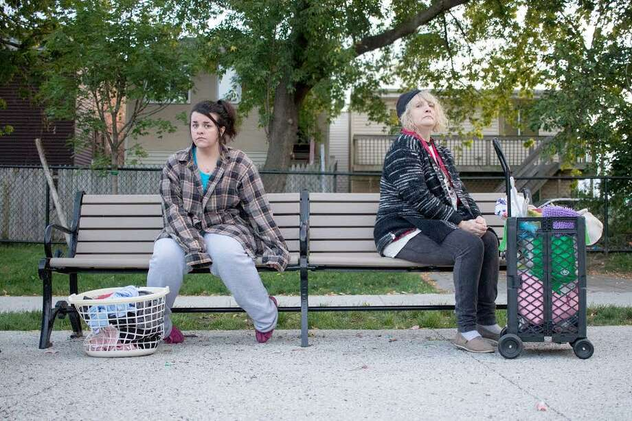 SRO - Maghen Ryan as Amy and Michelle Smith-Carrigan as Andrea. Photo credit: Sarah Morand