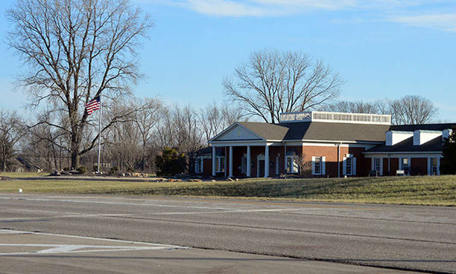 The Edwardsville Town Center Business District could be built one day in the vicinity of the Madison Mutual Insurance office, which is located off Route 157. Photo: Matthew Kamp/Intelligencer