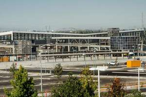 Construction is wrapping up on the new Warms Springs BART Station in southern Fremont. But the opening date remains to be set.