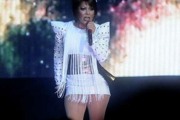 Mexican pop-rock singer Alejandra Guzman performs at the Bayou Music Center Friday Feb 14, 2014.(Dave Rossman photo)