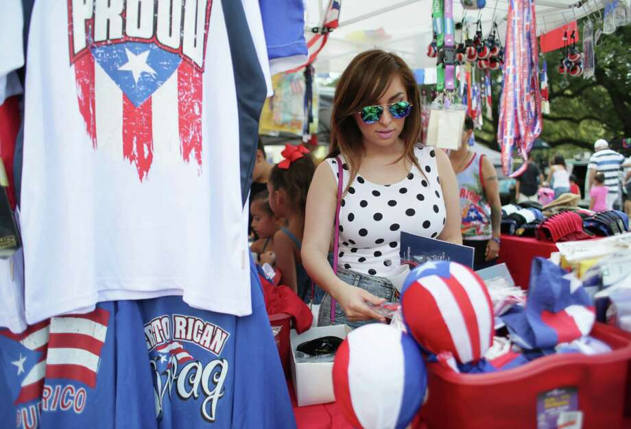 The Puerto Rican & Cuban Festival Saturday in downtown Houston will feature a marketplace as well as live music, dancing and food. Photo: Jon Shapley, Staff / © 2015 Houston Chronicle