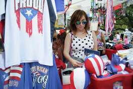 The Puerto Rican & Cuban Festival Saturday in downtown Houston will feature a marketplace as well as live music, dancing and food.