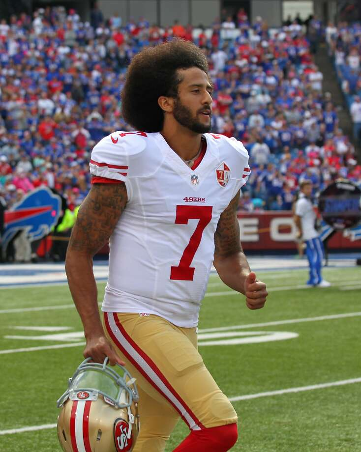 Colin Kaepernick. Photo: Bill Wippert, Associated Press