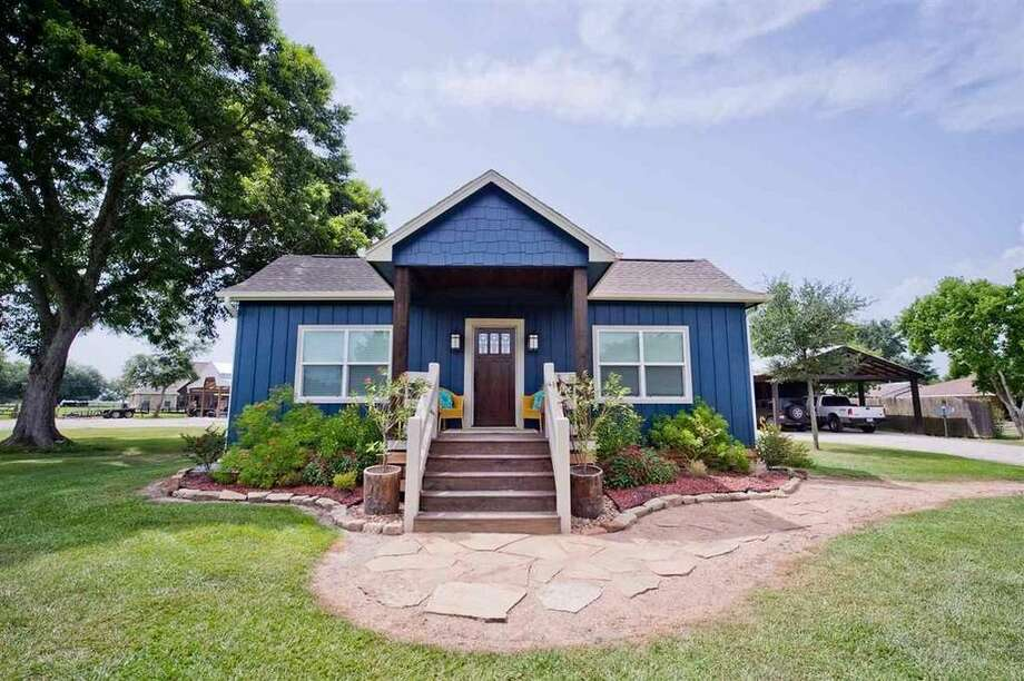 555 Westbury Lane, Beaumont, Texas 777133 bedrooms; 2 full, 1 half bathrooms. 2,400 sq. ft., 1.71-acre lot Photo: Realtor.com