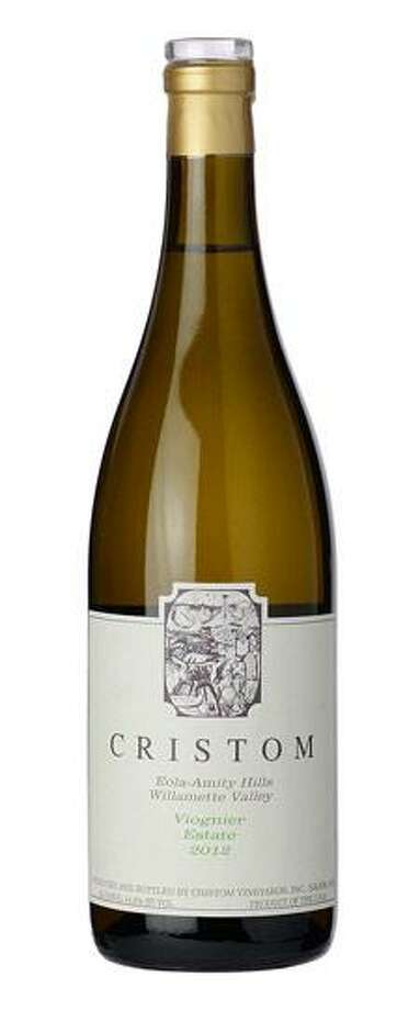 The 2013 vintage of Cristom viognier is a crossover wine that pairs with many different types of foods. Photo: Courtesy Cristom Vineyards