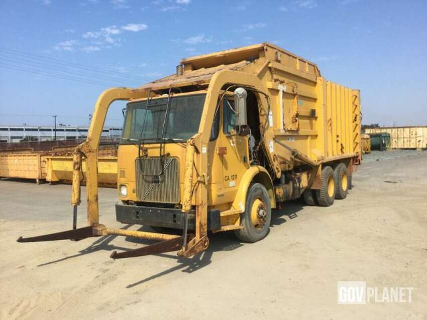 1996 Volvo Xpeditor WX Waste Collection Truck Starting at $2,500 157,923 miles California