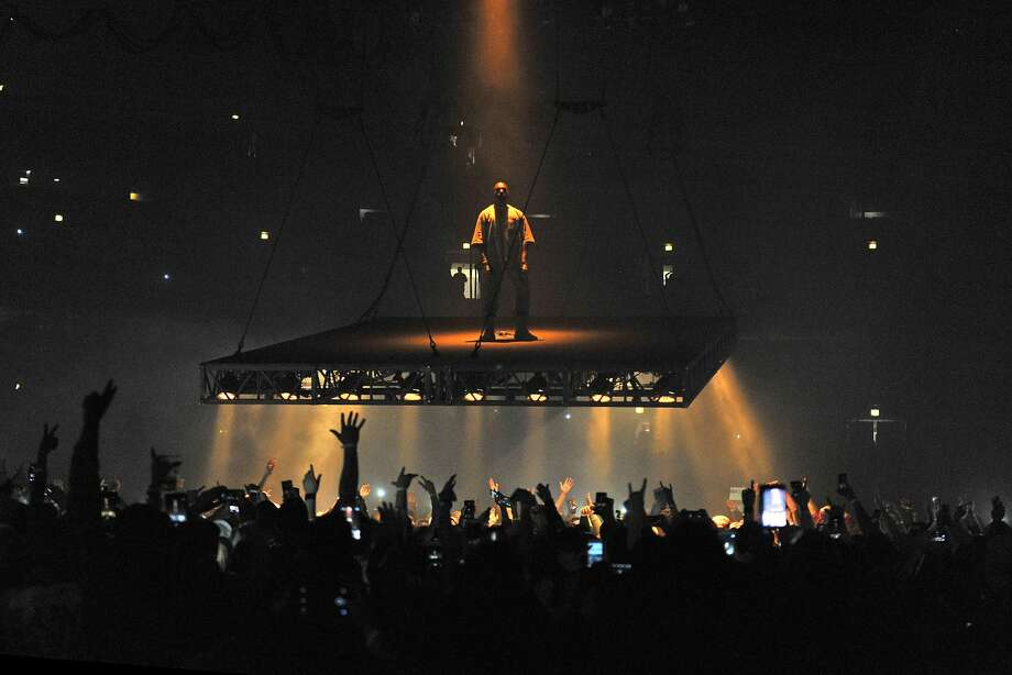 Kanye West performs at the United Center on Friday, Oct 7, 2016, in Chicago. (Photo by Rob Grabowski/Invision/AP) Photo: Rob Grabowski, Associated Press