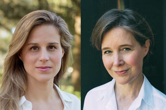Novelists Lauren Groff and Ann Patchett.