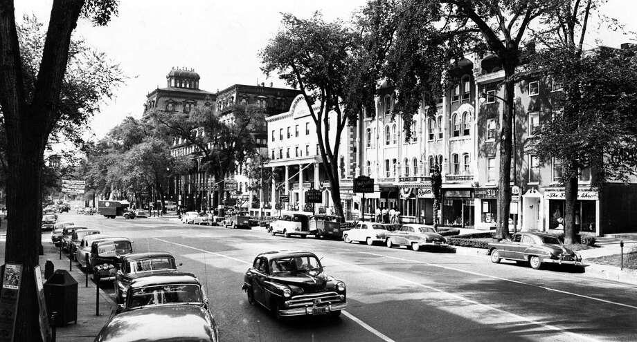 Saratoga Springs Grand Union Hotel, Aug. 2, 1952. (Times Union Archive)