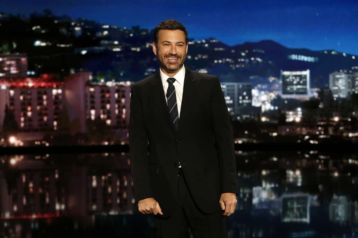 JIMMY KIMMEL LIVE - 'Jimmy Kimmel Live' airs every weeknight at 11:35 p.m. EST and features a diverse lineup of guests that include celebrities, athletes, musical acts, comedians and human interest subjects, along with comedy bits and a house band. The guests for Wednesday September 28 included Sarah Jessica Parker ('Divorce'), Daveed Diggs ('black-ish') and musical guest Dan + Shay. (Randy Holmes/ABC via Getty Images) JIMMY KIMMEL