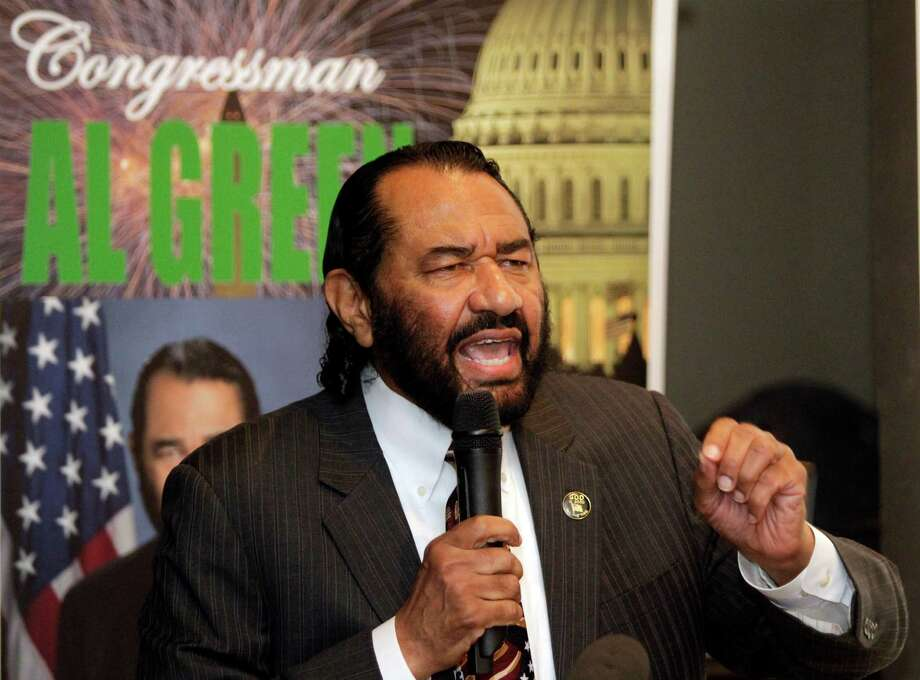 U.S. Rep. Al Green, D-Houston, wants voters to call for President Donald Trump's impeachment. ( Melissa Phillip / Houston Chronicle )Scroll through the gallery to see what it takes to remove a president through impeachment Photo: Melissa Phillip, Staff / © 2014  Houston Chronicle