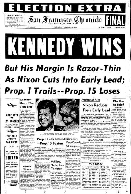 Image result for the day after election day november 9, 1960