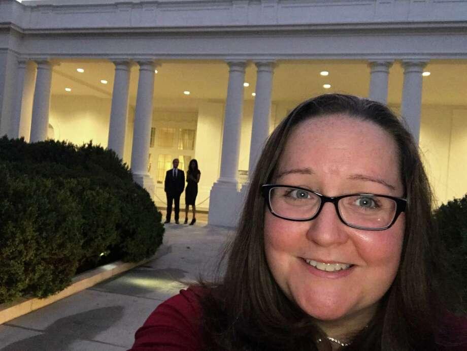 Emily Sowek at White House (Courtesy Emily Sowek)
