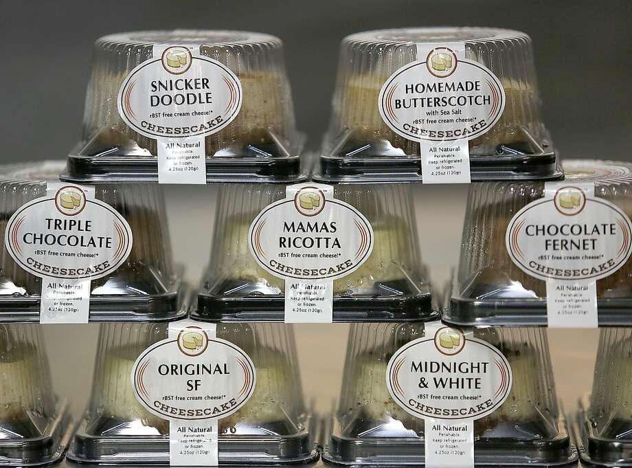 Cheesecakes from San Francisco Cheesecake Co. Photo: Liz Hafalia, The Chronicle