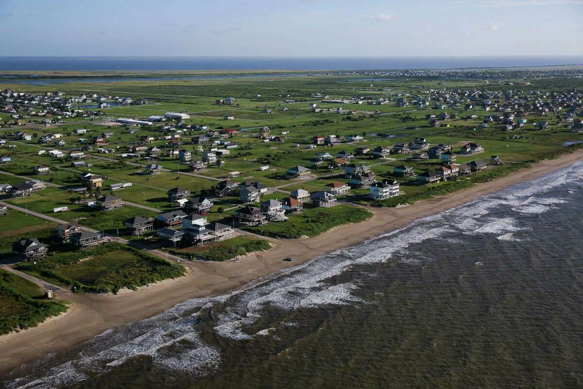 """A seawall that would protect the Bolivar Peninsula from storm surges is part of the $11.6 billion """"Ike Dike"""" plan."""