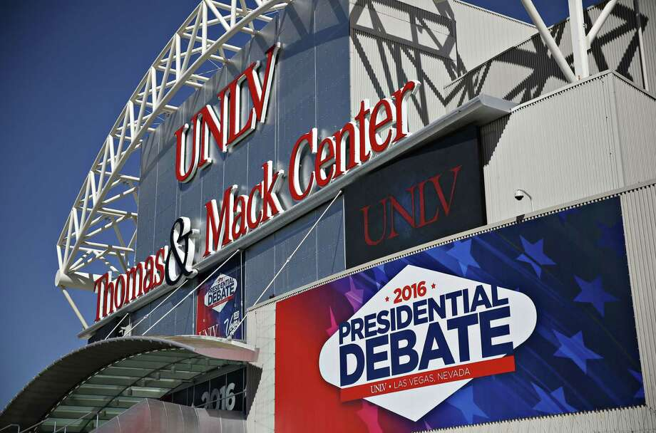 The third and final presidential debate will be held Wednesday night, starting at 8 CDT, in Las Vegas. Photo: Daniel Acker / © 2016 Bloomberg Finance LP