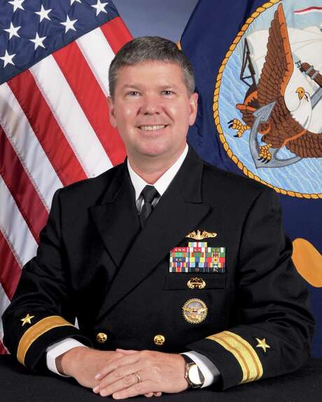 Rear Adm. Thomas E. Ishee says the Navy wants to thank the Houston area for its support of the service. Photo: Photo Courtesy Of US Navy / Photo courtesy of US Navy