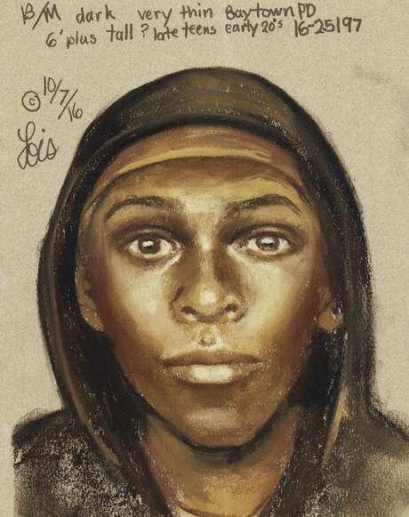 Baytown police said this person was seen around the apartment where Nataliya Shal was slain. Photo: Baytown Police / Baytown Police