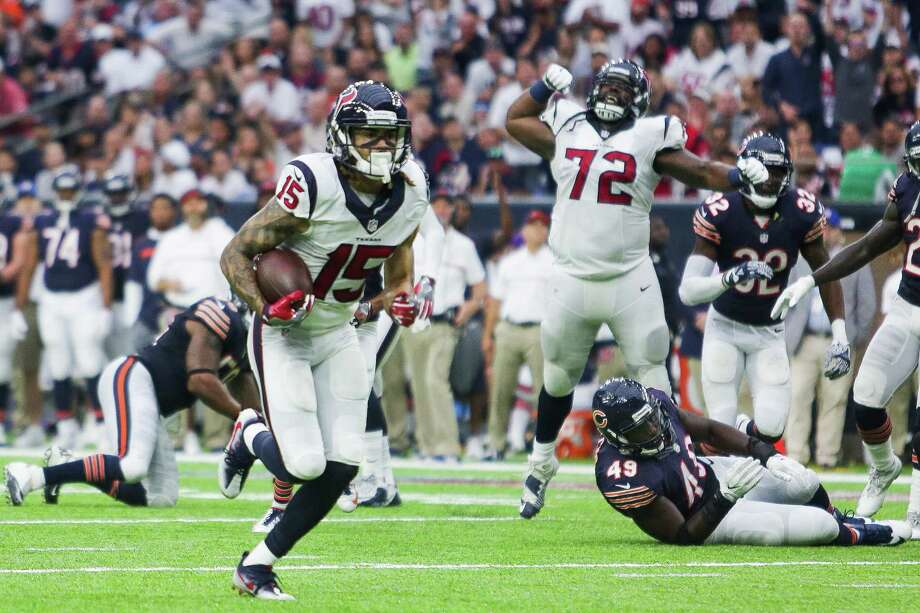 The Texans will welcome the return of Will Fuller's big-play capability after he missed the Colts game with a hamstring injury. Photo: Michael Ciaglo, Staff / © 2016  Houston Chronicle