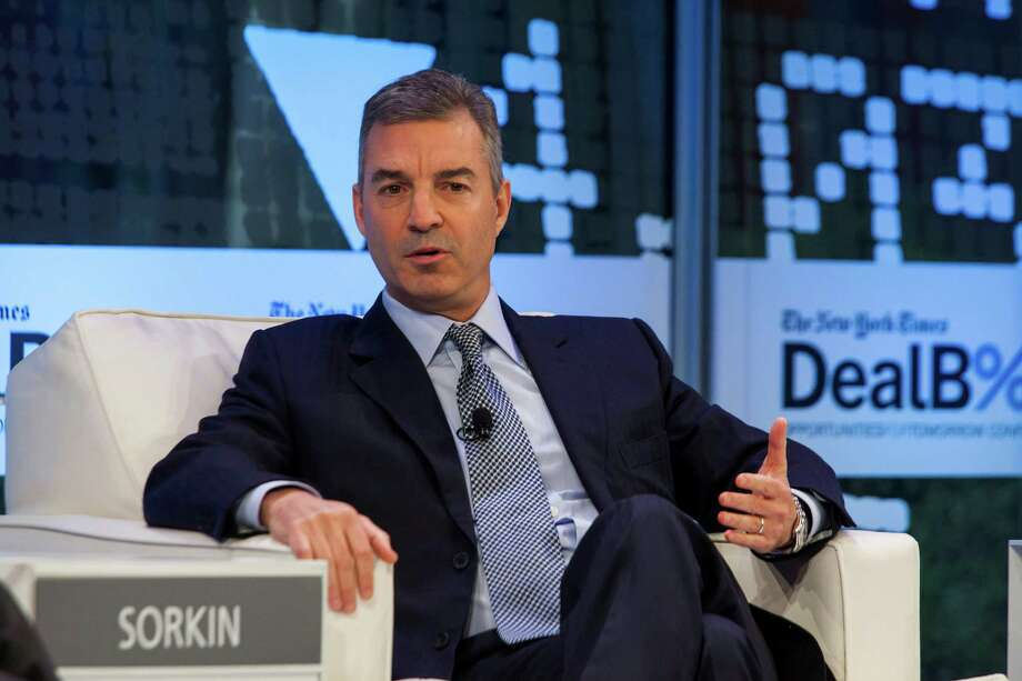 FILE — Daniel Loeb, the hedge fund billionaire, speaks at a conference in New York, Nov. 12, 2013. The very richest Americans have quietly shaped tax policy so as to shield millions, if not billions, of their income; Loeb invests in a Bermuda-based reinsurer that then invests that money in his hedge fund, transforming profits into capital gains taxed at roughly half the rate. (Michael Nagle/The New York Times) ORG XMIT: XNYT53 Photo: MICHAEL NAGLE / NYTNS