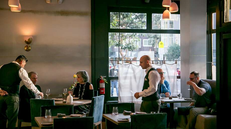 People have dinner at Nightbird in S.F. Photo: John Storey, Special To The Chronicle