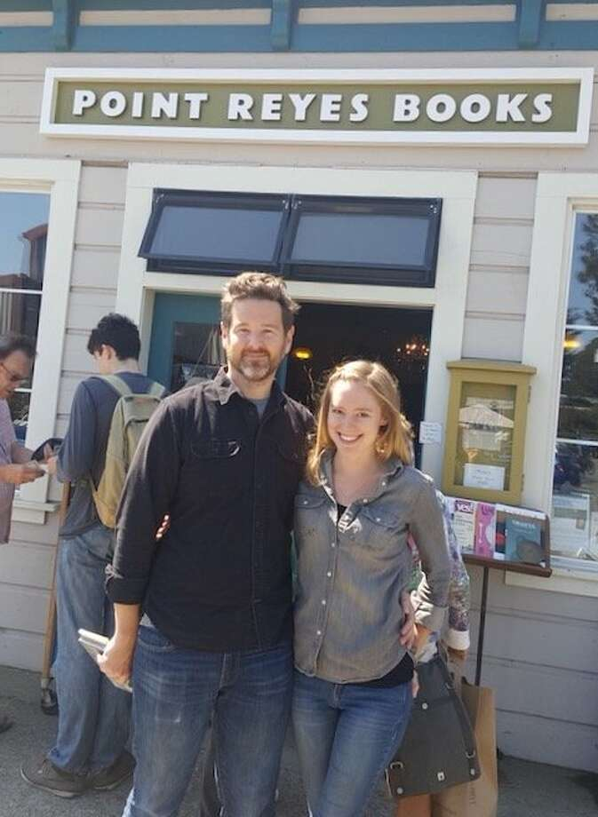 Stephen Sparks and Molly Parent, owners of Point Reyes Books, said they will donate all profits from this weekend's sales to a wildfire relief community fund. Photo: Bill Parent