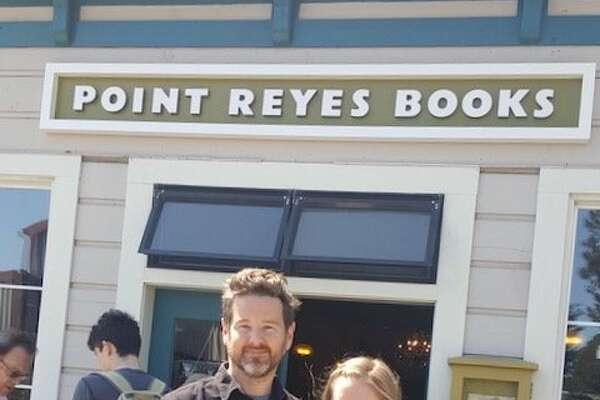 Stephen Sparks and Molly Parent at Point Reyes Books.