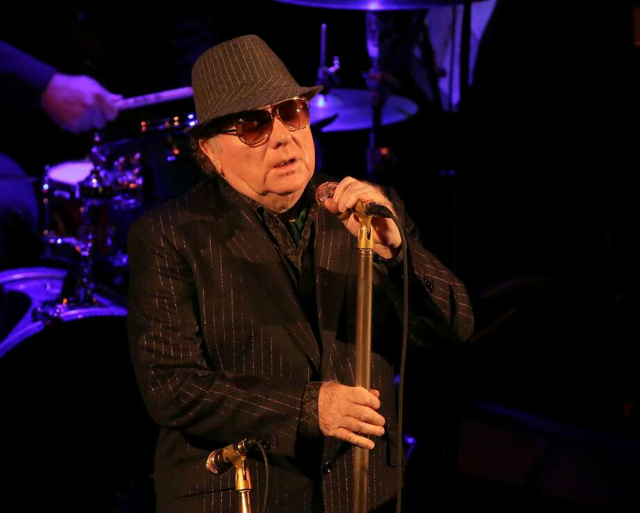 Van Morrison performs inside the Miner Auditorium at the SFJAZZ Center on Tuesday, October 18, 2016. Photo: Rick Swig, SFJAZZ