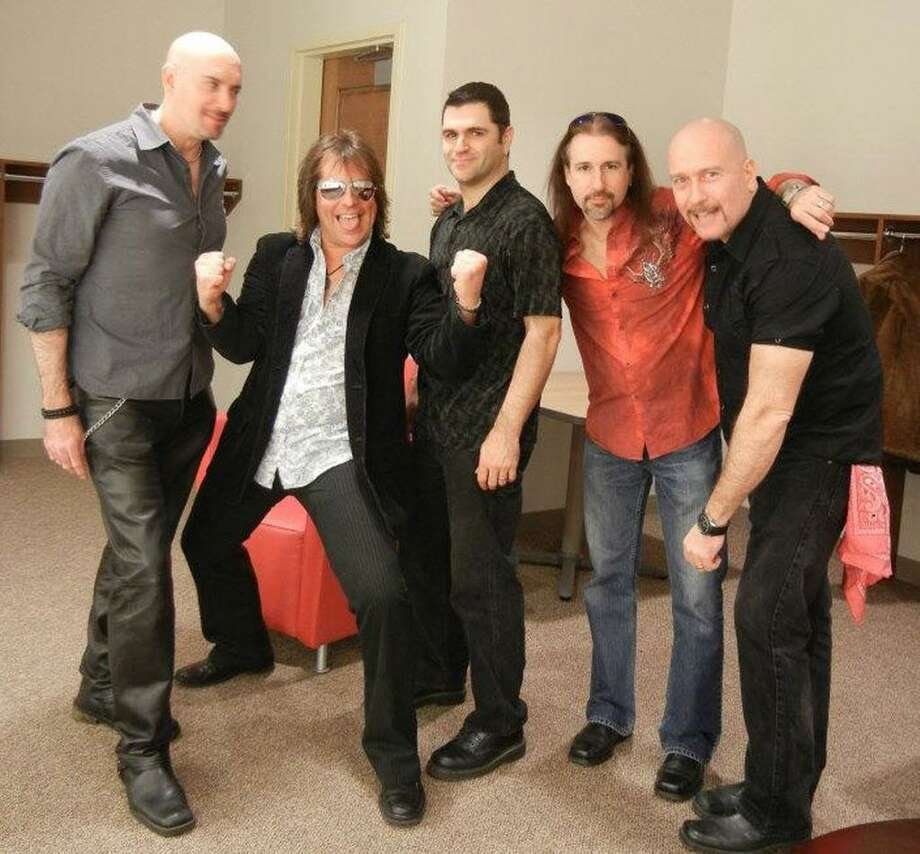 Members of the band Almost Famous will perform at the Palace Theatre in Stamford, Conn., this weekend as part of an autism awareness fundraiser. The band covers rock's greatest hits. Photo: Contributed Photo / Contributed Photo / Stamford Advocate Contributed