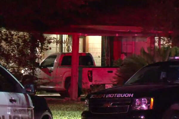 Police fired a Taser at a man late Tuesday night to take him into custody during a tense standoff at a residence in west Houston.
